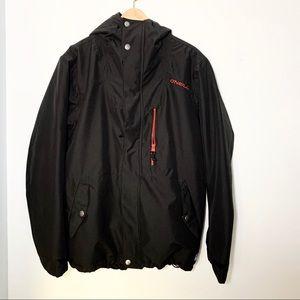 Men's O'Neill black snowboard jacket size small